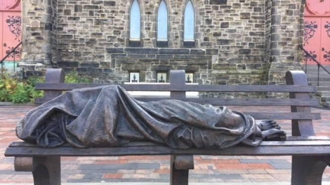 homeless Christ