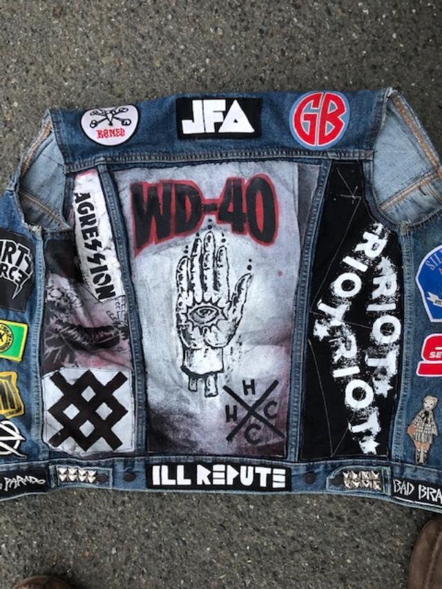 WD40 jacket
